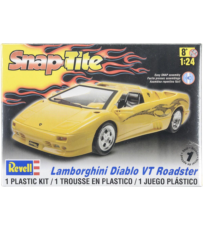 Beau Revell Plastic Model Kit   Lamborghini Diablo VT Roadster 1:24
