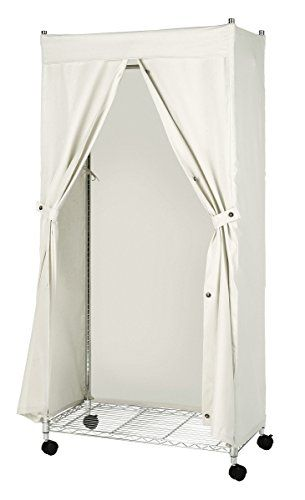 Whitmor 6462 389 Supreme Garment Rack Cover Natural Canvas Cover