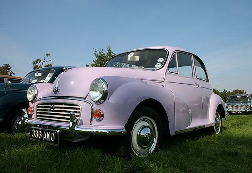 Lilac Morris Minor 3 Cutie Cars Pinterest Morris Minor