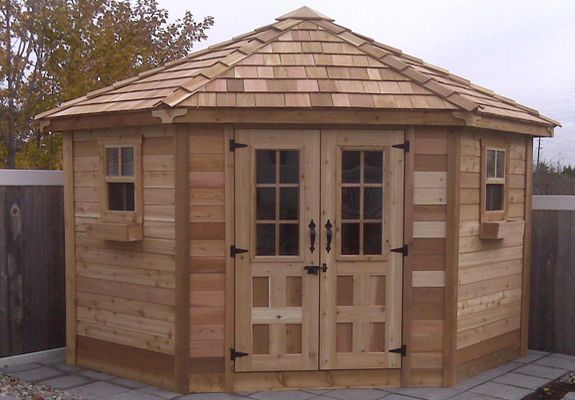 penthouse garden shed 9x9 outdoor living today