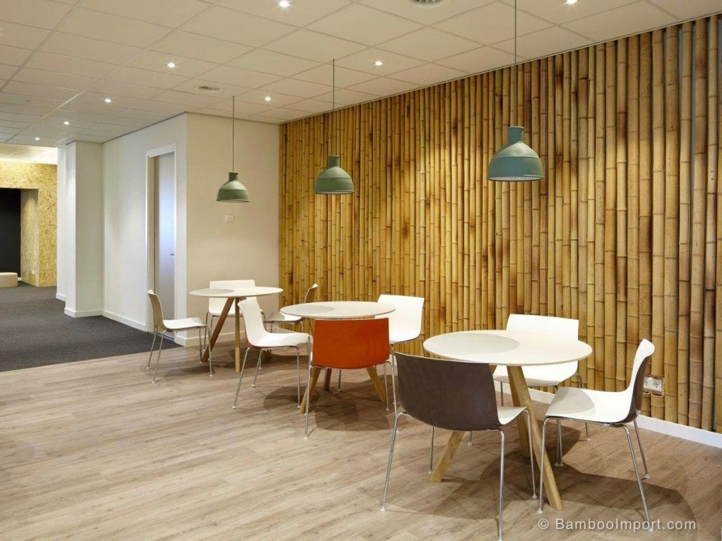 Wall Finishes Trends In Commercial Interior Design Bamboo Decor Bamboo Wall Covering Bamboo Wall