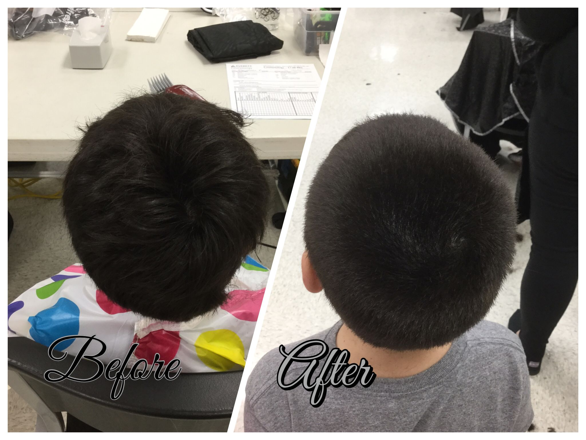Haircut By Using 3 Guard All Over 12416 Mens Haircuts