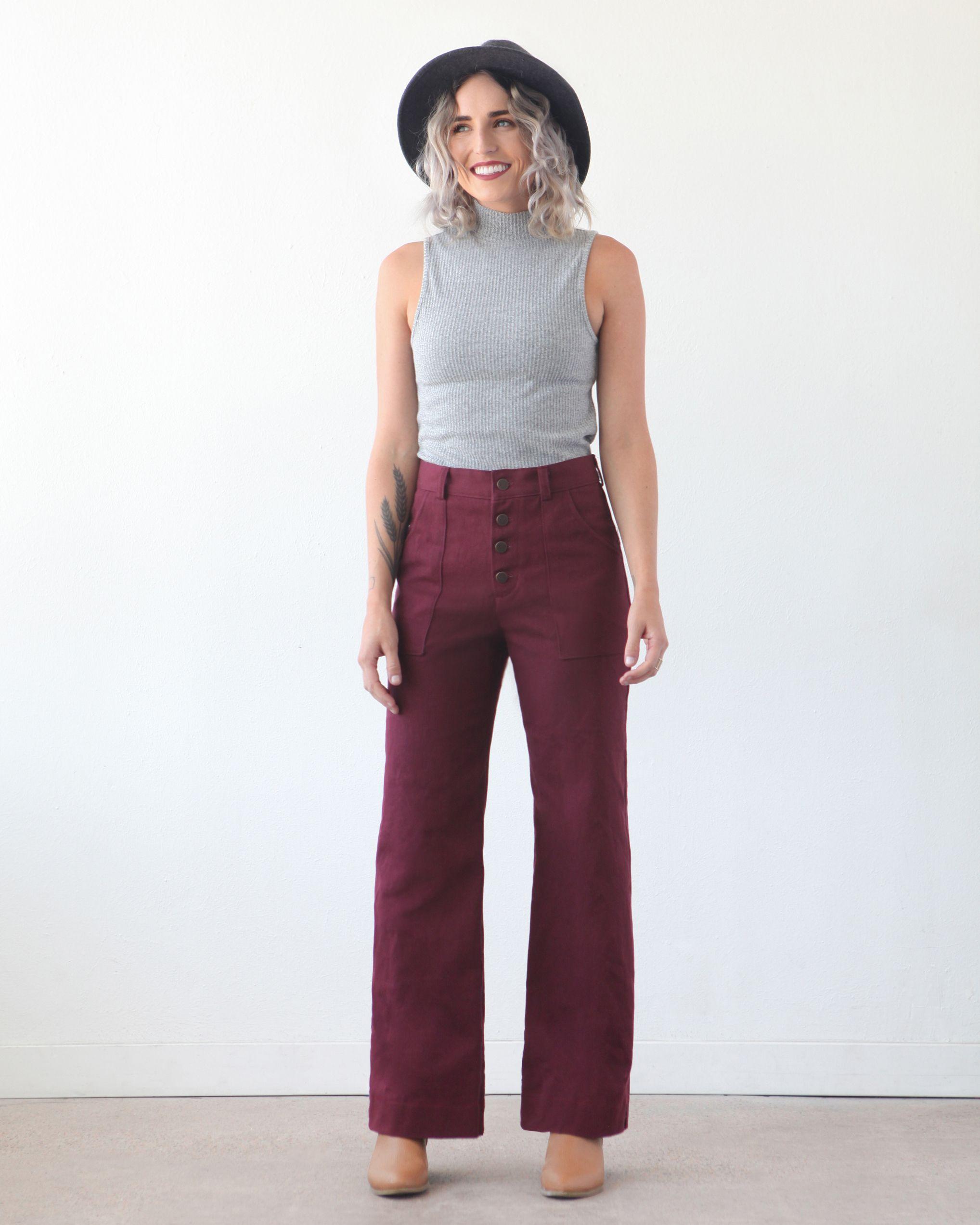 LANDER PANT & SHORT – NEW SEWING PATTERN – True Bias   Legwear ...