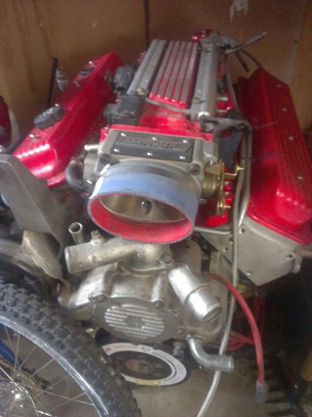 383 stroker LT1 for the Camaro  $12,000 in parts  This will