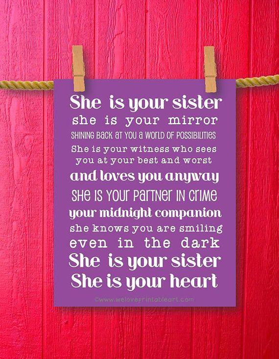 sister gift teen room decor girl room by weloveprintableart 500
