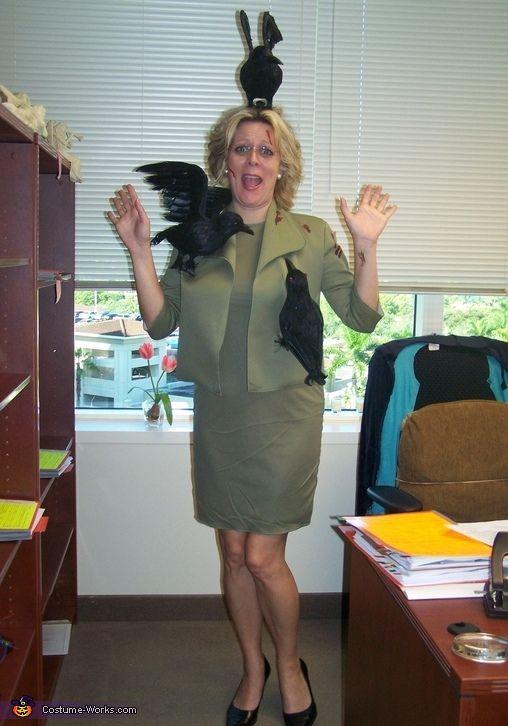 Tippi Hedren in The Birds - Halloween Costume Contest at Costume - ideas for halloween costumes
