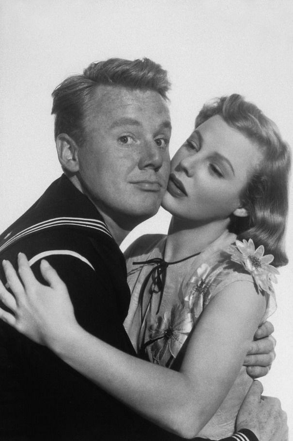 Van Johnson (25 de agosto de 1916, Newport, Rhode Island - 12 de diciembre de 2008, Nueva York) Con June Allyson.