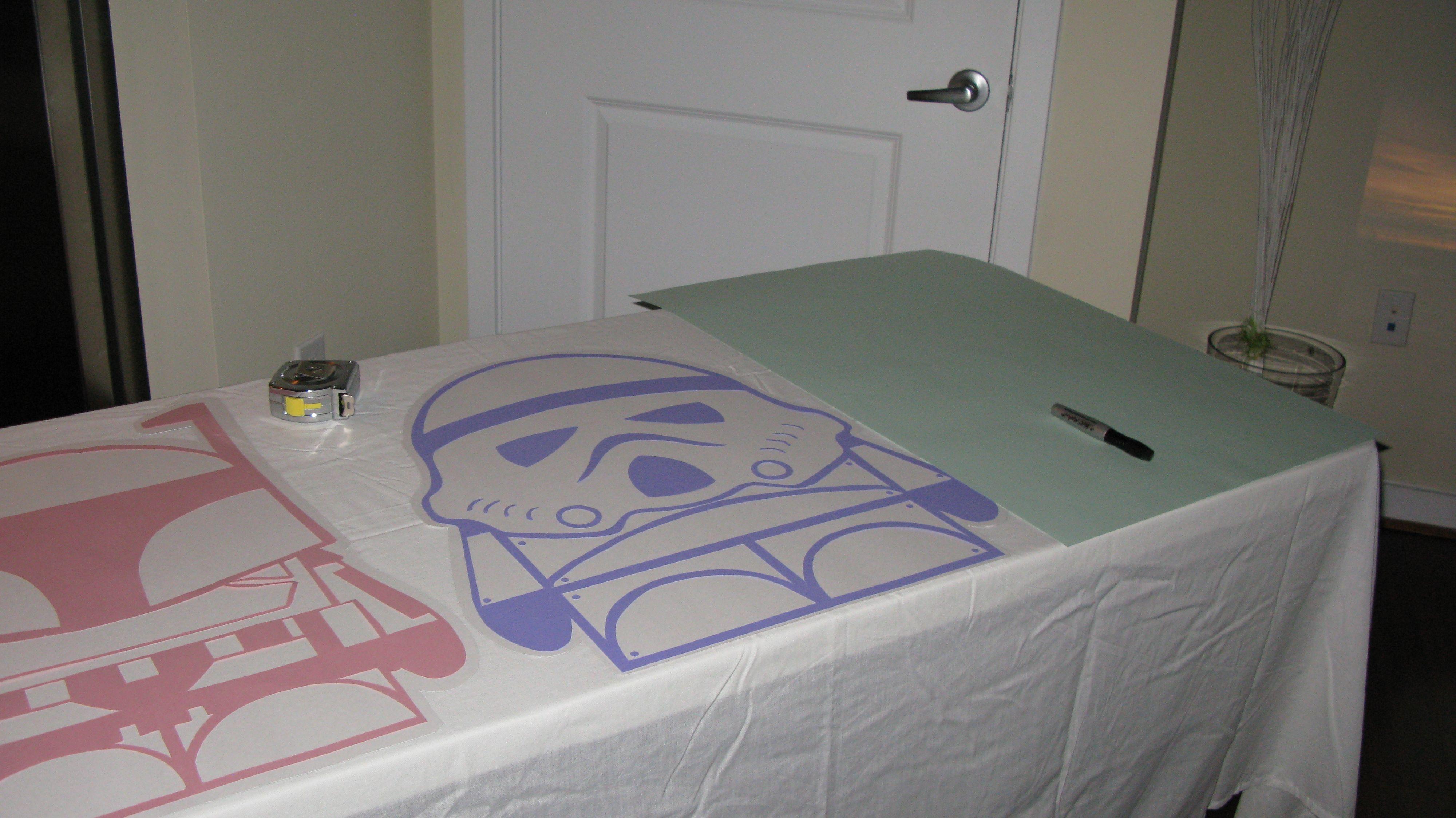 Star Wars Baby Shower Decorations!!