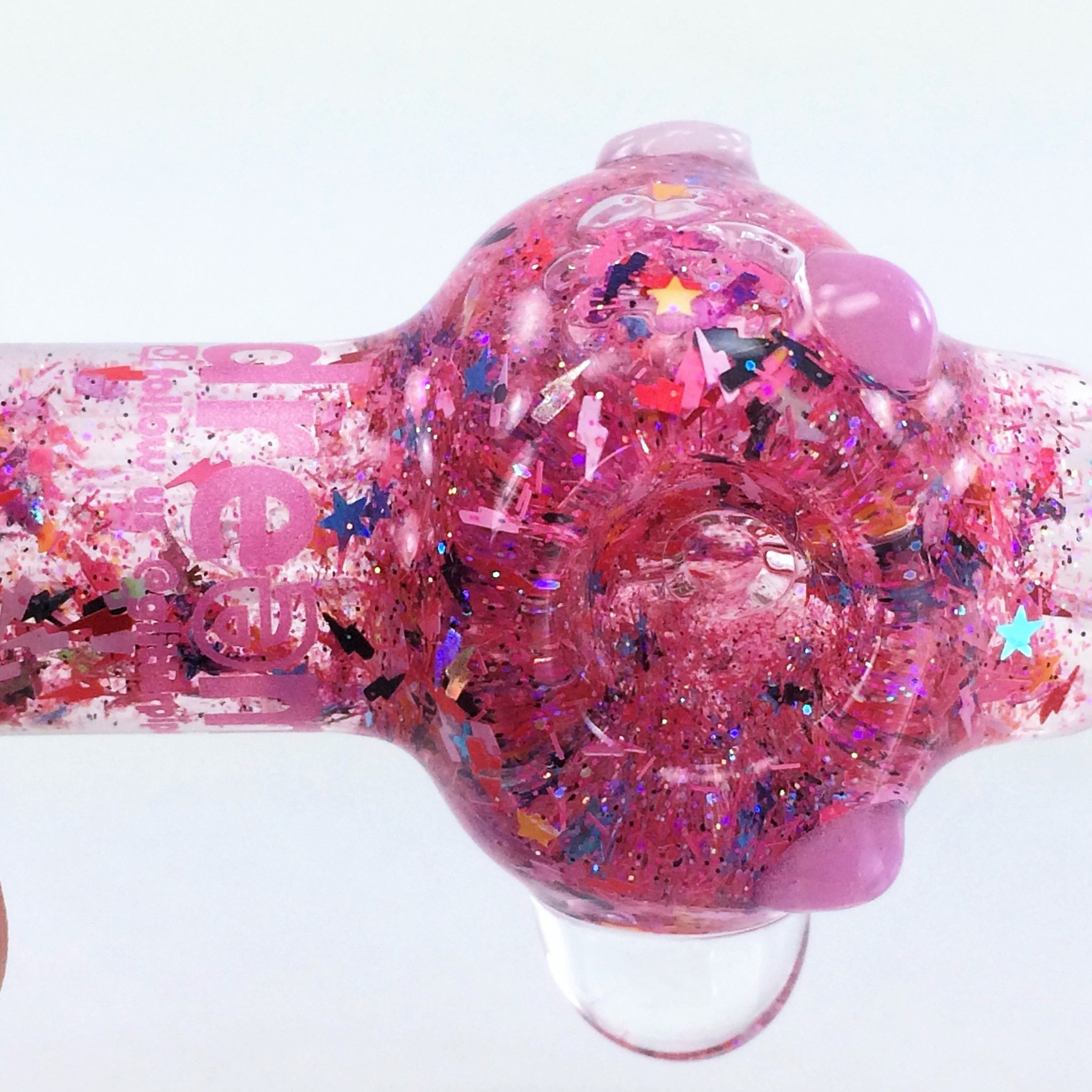 Pink Galaxy Pipe ™ (Lg) | Stoner Girl | Glass pipes, Glass