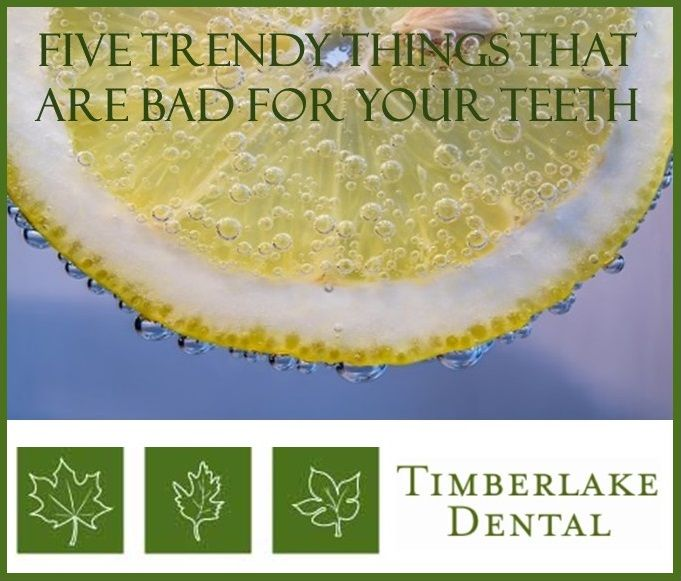 Five Trendy Things That Are Really Bad For Your Teeth
