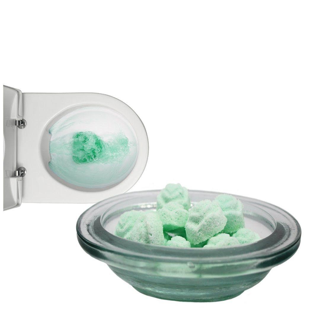 Como hacer pastillas para oner en la cisterna y limpiar el for Trucos para limpiar el bano