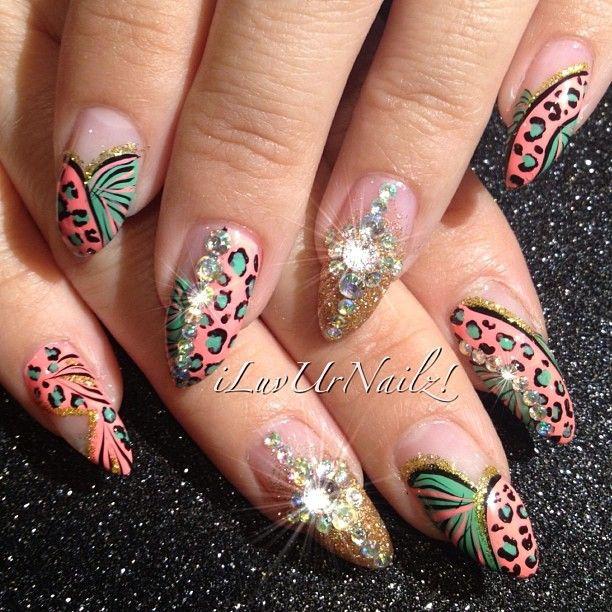 instagram photo by iluvurnailz nail art nail designs