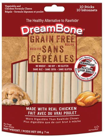 Dreambone Grain Free Mini Chicken Dog Chews Chicken For Dogs Grain Free Dog Chews