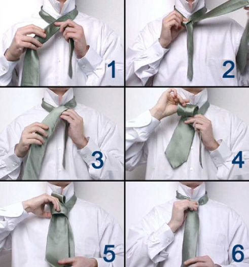 Tying A Tie Step By Step: How To Tie A Tie Step By Step Pictures 4