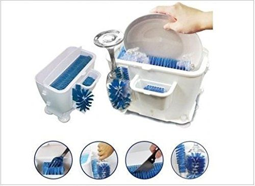 Used for Camping UV Function Portable Dishwasher Washing Machine White no Need to Install RV Tourism OCYE USB Automatic Dishwasher Dormitory Business Trip