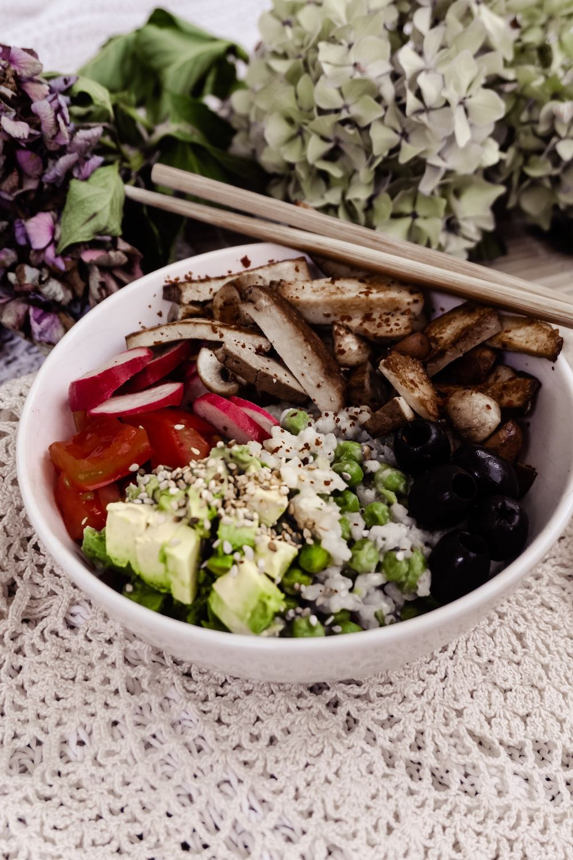 High Protein Buddha Bowl - Nina Flucher