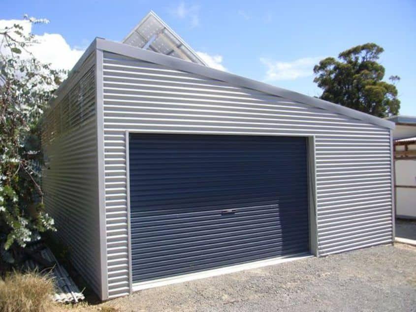 Efficient And Excellent Prefab Garage Skillion Roof Prefab Garages Modern Garage