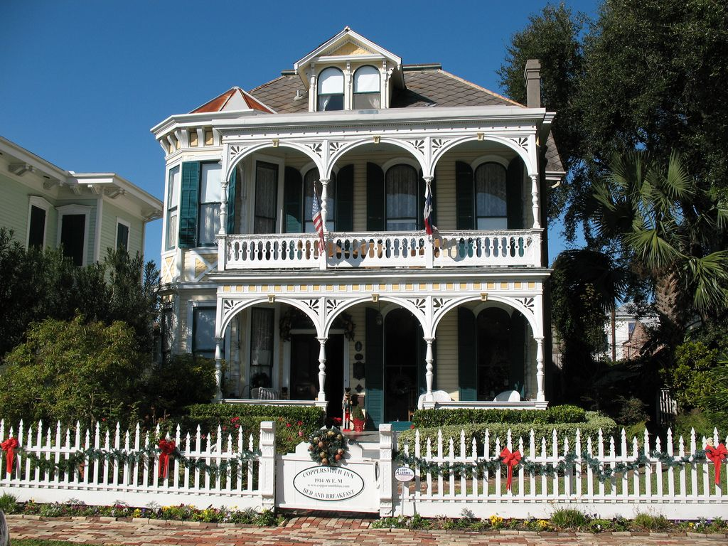 Galveston, Texas Victorian Victorian homes, Victorian