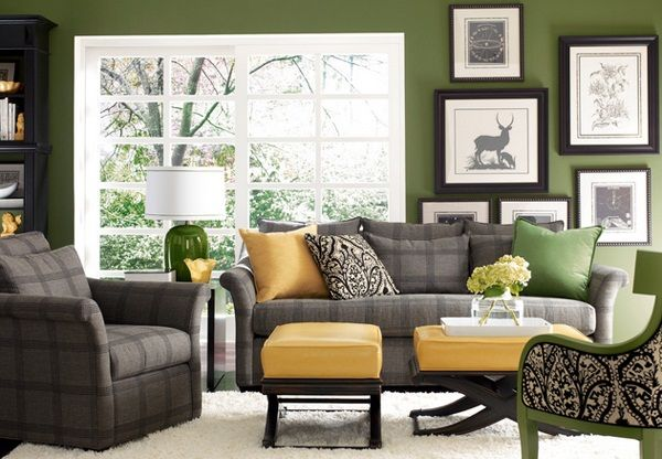 Avocado And Tan Living Room In Your Living Room Separating The Living Room Economic Tips T Living Room Grey Gray And Green Living Room Yellow Living Room