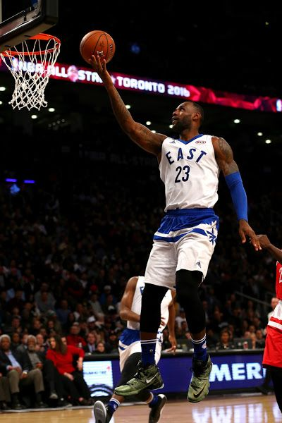 big sale fa766 1760b King James Wears Nike LeBron 13 in 2016 NBA AllStar Game