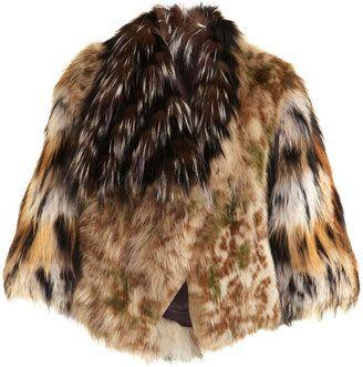 a7316d48e Fendi Camo Fur Cropped Jacket | Camo, Fur and Trophy wife