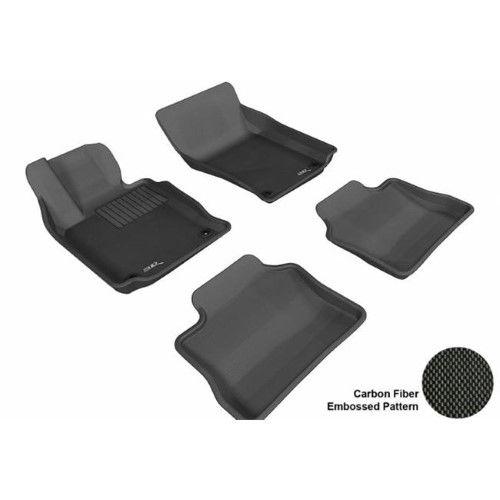 PORSCHE PANAMERA 2010-2014 KAGU BLACK R1 R2 Floor Mat
