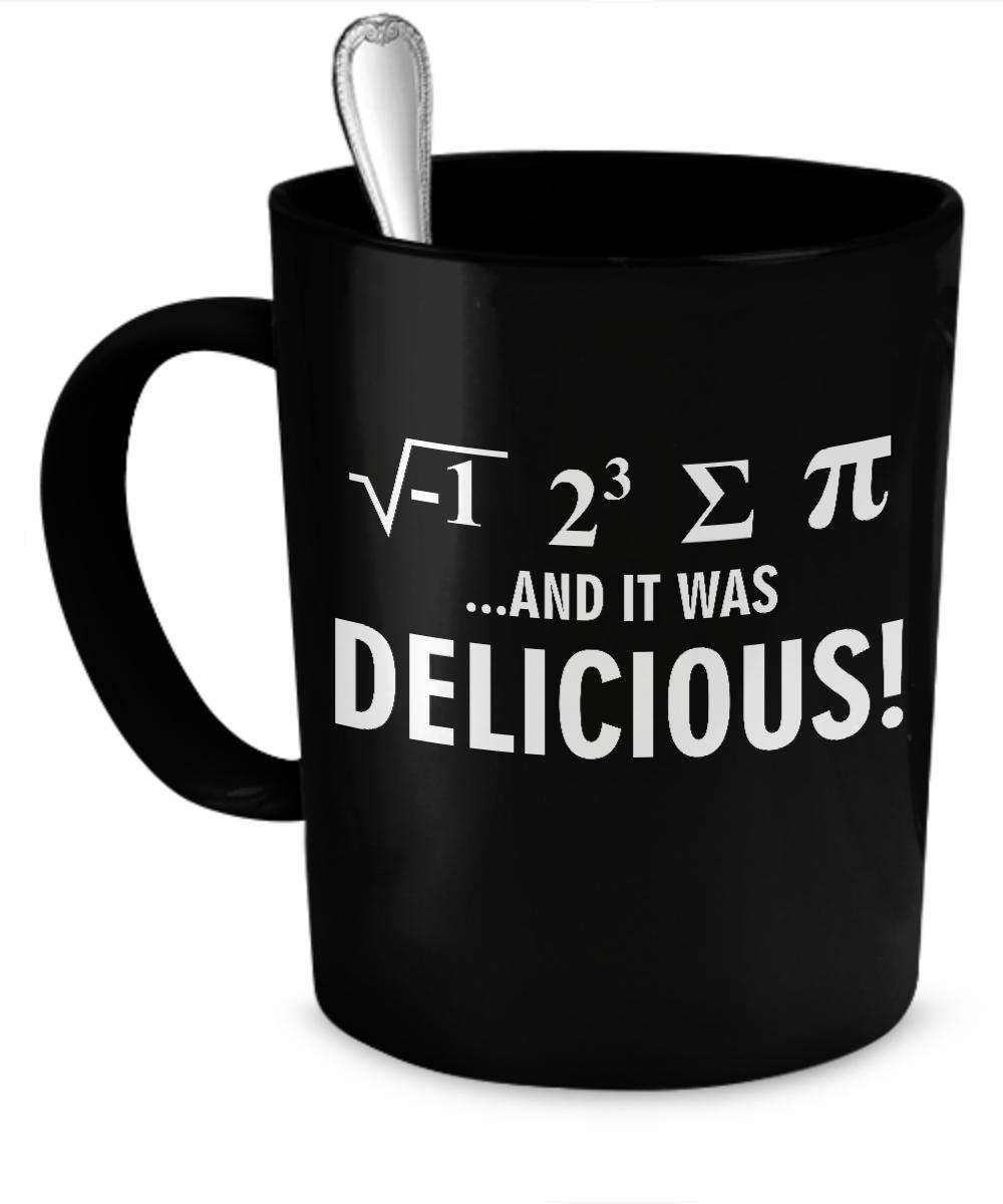 I Ate Some Pie Mug  #gift#geek #math $17.95