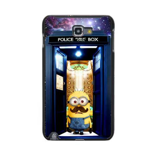Tardis doctor who with despicable me Samsung Galaxy note N7000 case US $16.50 hrmmmm I want?
