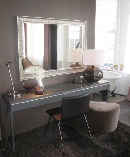 Modern Klassiek Interieur | Ikea Luxe … modern makeup table - Ideeën ...