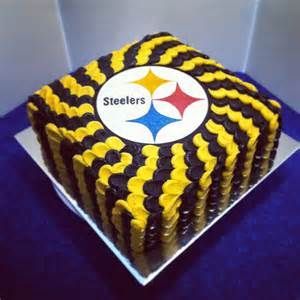 Awesome Pittsburgh Steelers Cake Bing Images With Images Nfl Cake Funny Birthday Cards Online Alyptdamsfinfo