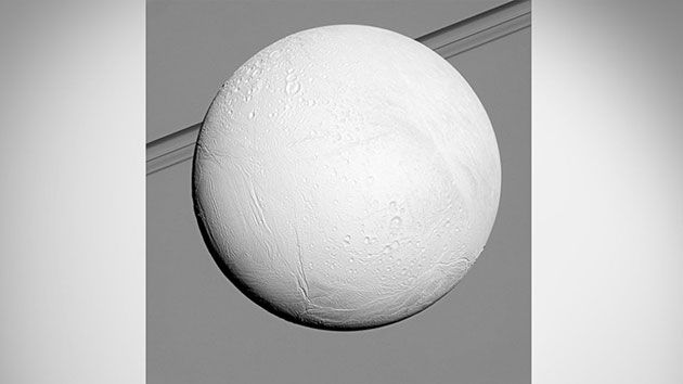 NASA's Cassini Probe Gets Up Close with Saturn's Moon