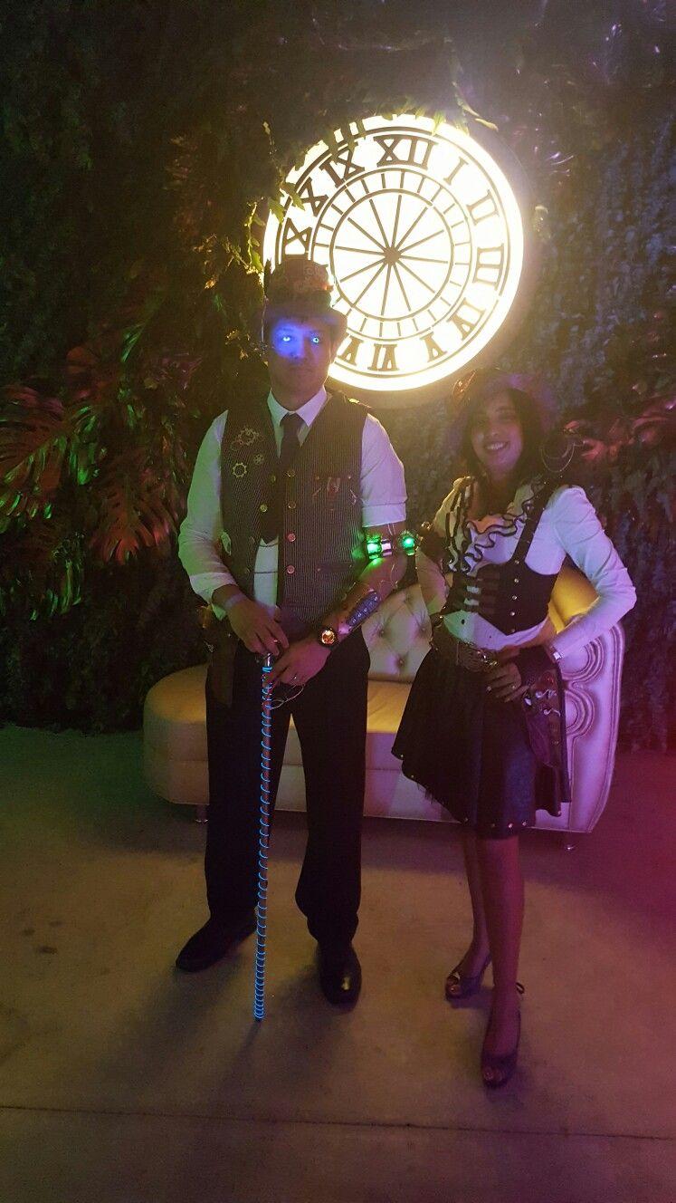 Time Travelling Alchemist Steampunk Couple
