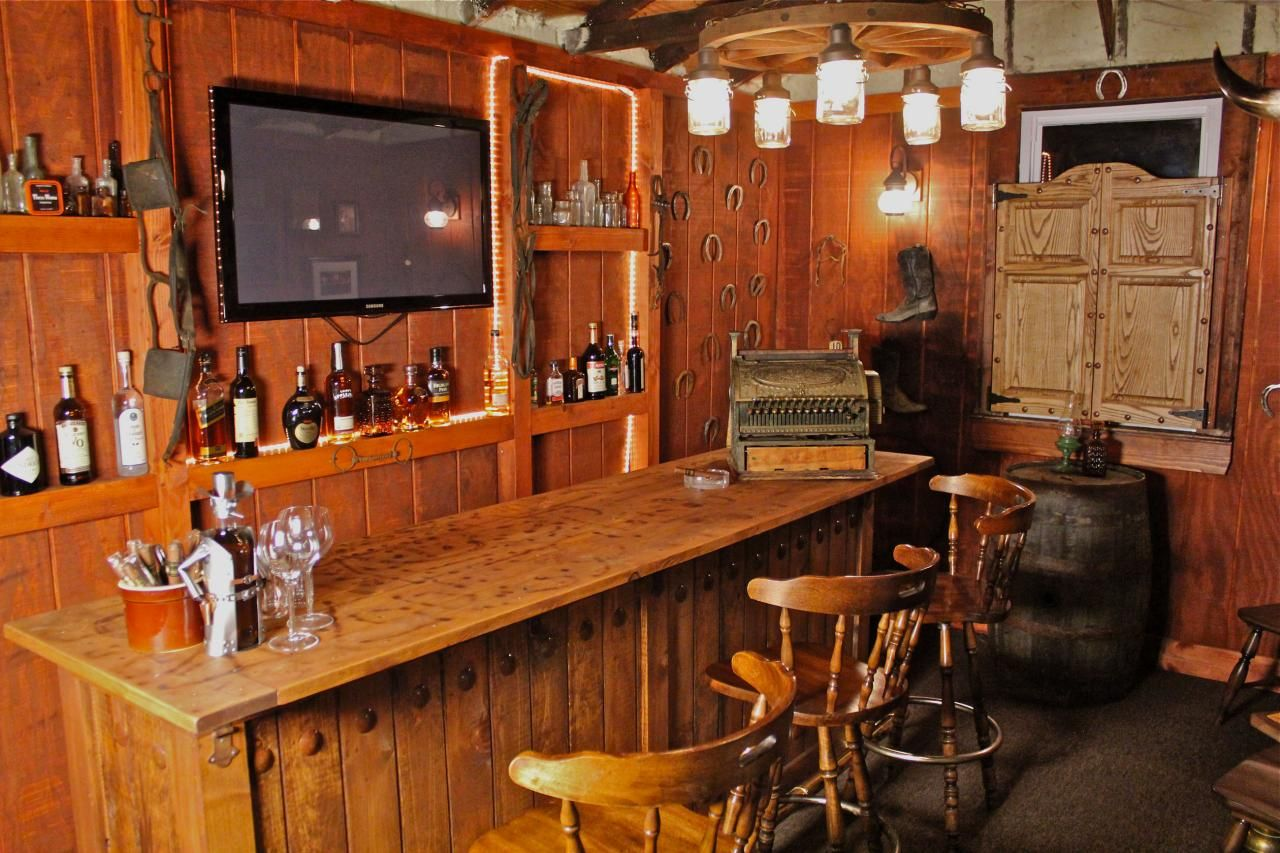 Old West Saloon ManCave Man Caves  Garages Pinterest - Man cave garage bar