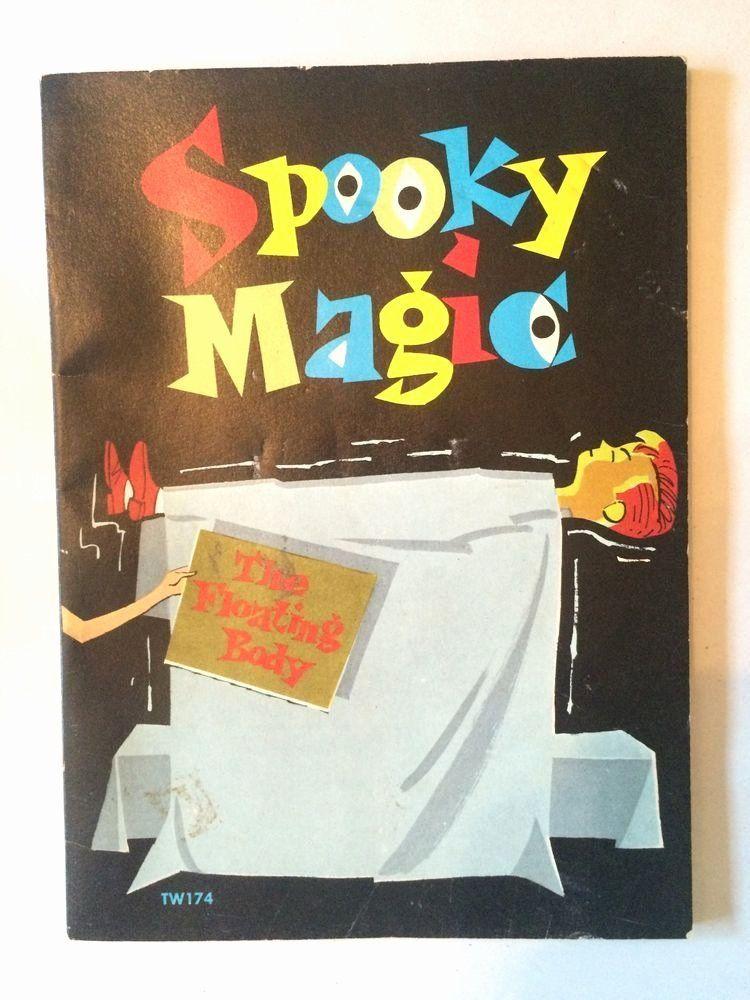 Coloring Book Magic Trick Luxury Spooky Magic The Floating Body Children S Magic Trick Book Magic Tricks Book Coloring Books Gifts Magic Tricks