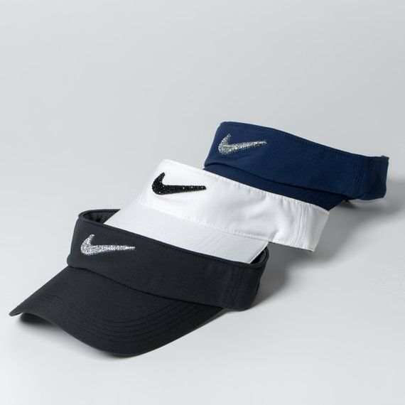 Snapback · Swarovski Nike Visor Hat Golf Visor Tennis Gifts Golf  f75efb262