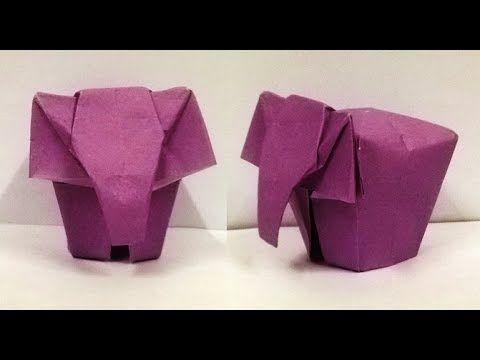 Origami Elephant Instructions Easy Elephant Origami Paper