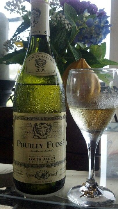 Pouilly Fuisse,my pick for best inexpensive Chardonnay...