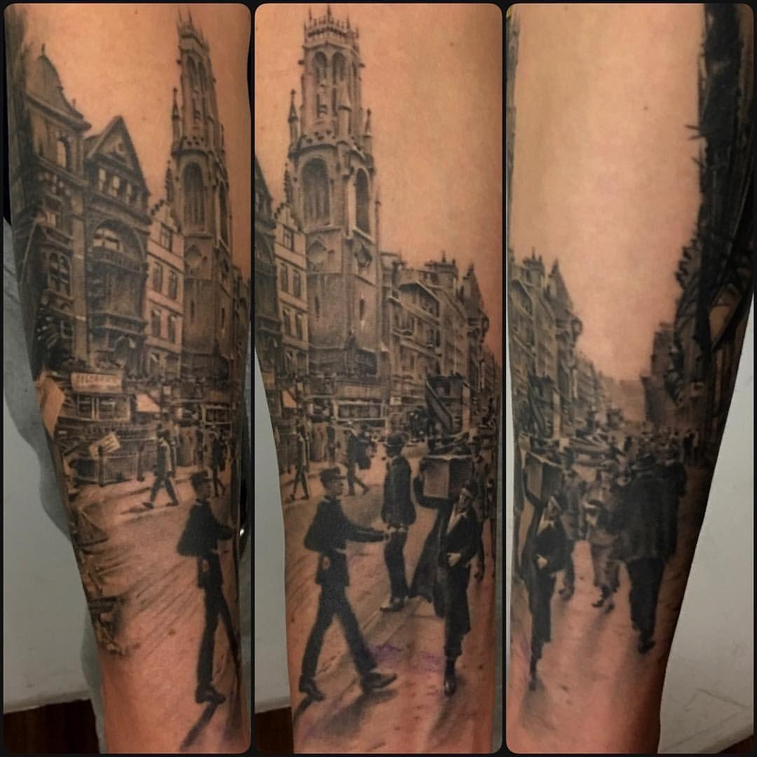 Classic Tattoo - Old London