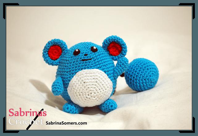 Crochet pattern Marill   Häkeln und Stricken   Pinterest   Pokémon ...