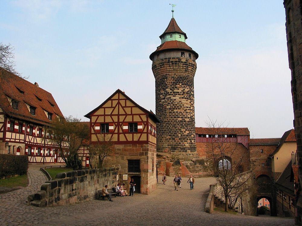Kaiserburg Nurnberg Stadte Deutschland Burg Nurnberg