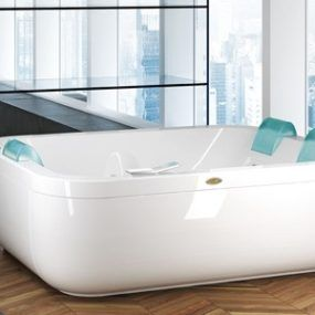 Extra Wide Bathtubs U2013 New Aquasoul Extra By Jacuzzi