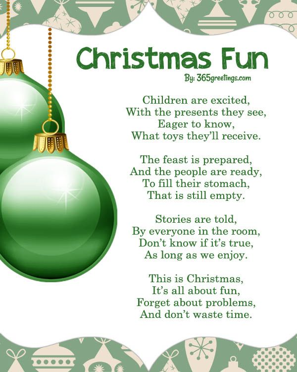 Best Christmas Poems, Free Christmas Poems and Poetry