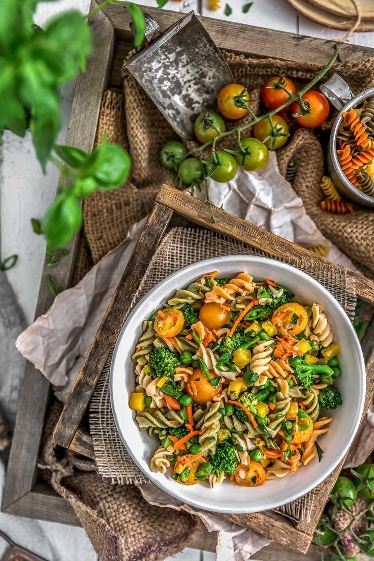No Oil Italian Pasta Salad