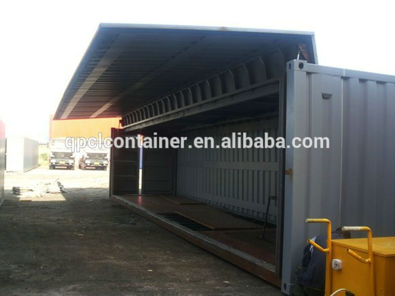 40ft Flying Side Open Container With CSC Certificate