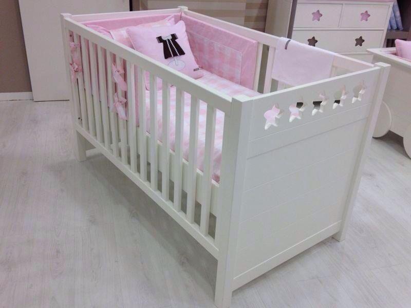Cuna cama estrellas blanca   Babyroom muebles   Pinterest   Camas y ...