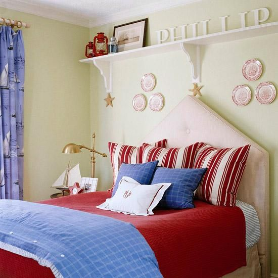 30 Patriotic Home Decoration Ideas in White Blue and Red Colors for Independence Day Celebration & 30 Patriotic Home Decoration Ideas in White Blue and Red Colors for ...