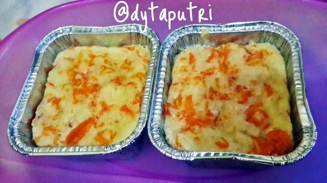 The Dytaputri Resep Mpasi Puding Roti Labu Kuning 10m Puding Roti Resep Makanan Bayi Rotis
