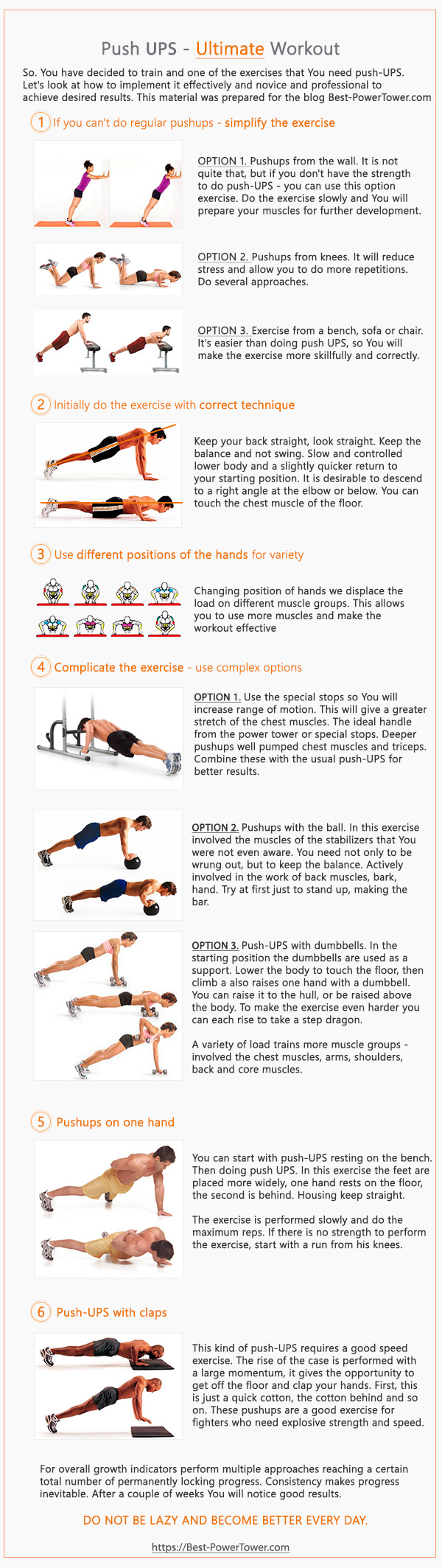 Perfect Pushup Workout Guide Doesn T Have To Be Hard Push Up Workout Perfect Pushup Workout Guide