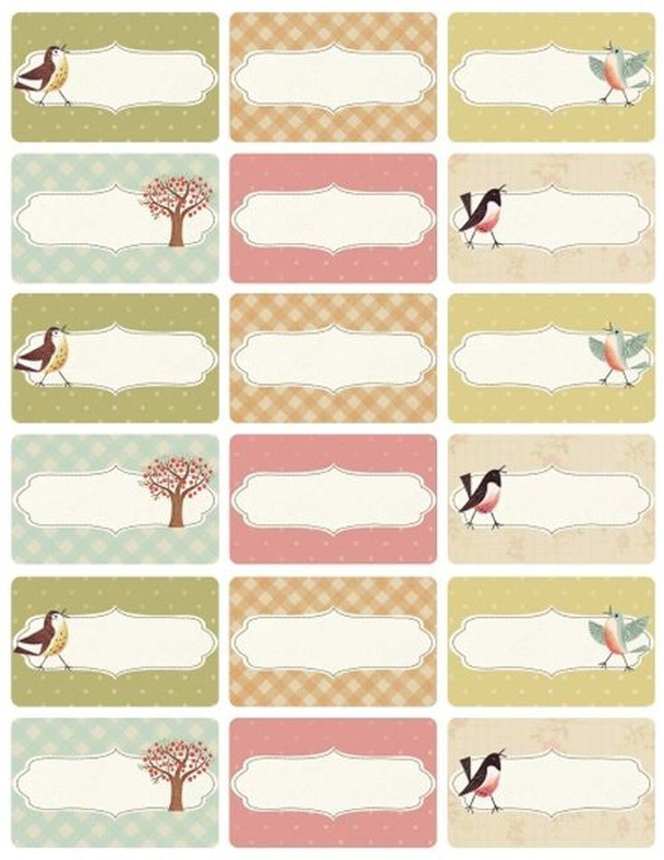 Try These Free and Stylish Address Templates Sweet Little Birdie - address label template