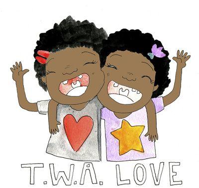 'TWA love' by Sharee Miller.